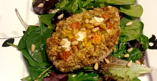 pine-nut-crusted-chicken